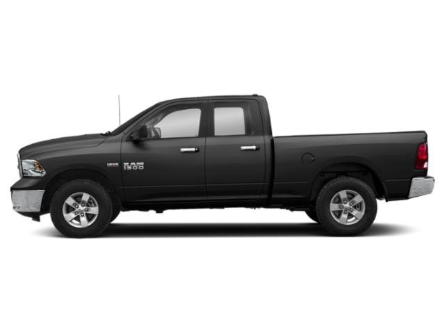 Brilliant Black Crystal Pearlcoat 2018 Ram Truck 1500 Pictures 1500 Big Horn 4x4 Quad Cab 6'4 Box photos side view