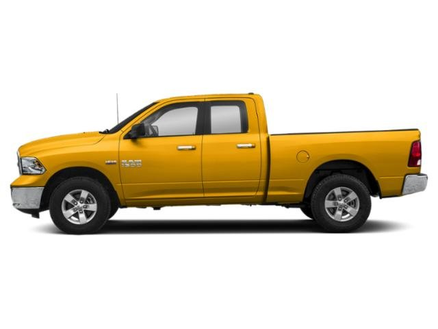 Detonator Yellow Clearcoat 2018 Ram Truck 1500 Pictures 1500 Big Horn 4x4 Quad Cab 6'4 Box photos side view