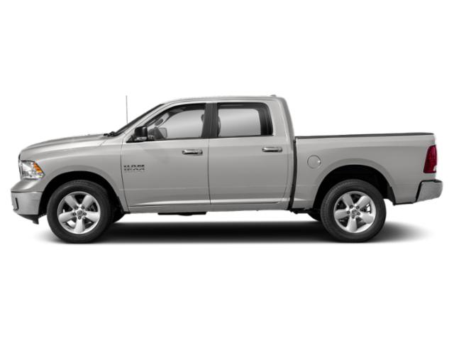 Bright Silver Metallic Clearcoat 2018 Ram Truck 1500 Pictures 1500 Crew Cab SSV 4WD photos side view