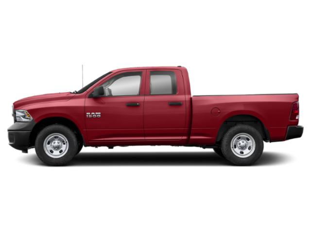 Flame Red Clearcoat 2018 Ram Truck 1500 Pictures 1500 Express 4x4 Quad Cab 6'4 Box photos side view