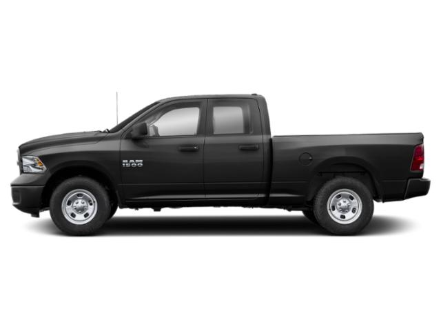 Brilliant Black Crystal Pearlcoat 2018 Ram Truck 1500 Pictures 1500 Express 4x4 Quad Cab 6'4 Box photos side view