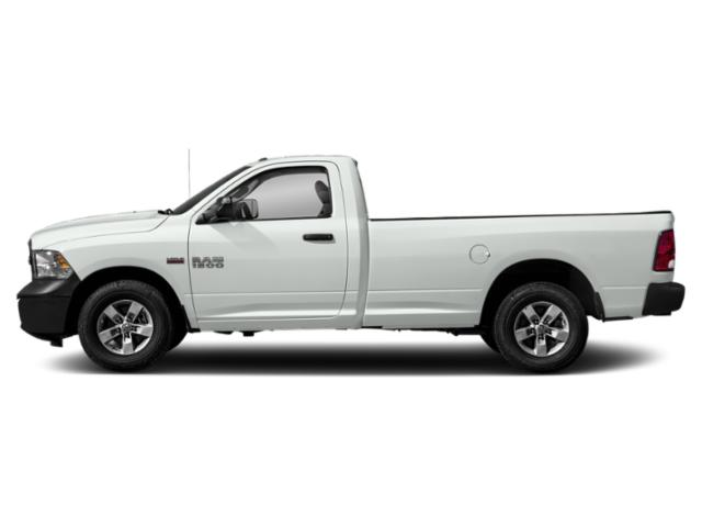 Bright White Clearcoat 2018 Ram Truck 1500 Pictures 1500 Express 4x2 Reg Cab 6'4 Box photos side view