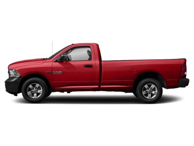 Bright Red 2018 Ram Truck 1500 Pictures 1500 Express 4x2 Reg Cab 6'4 Box photos side view