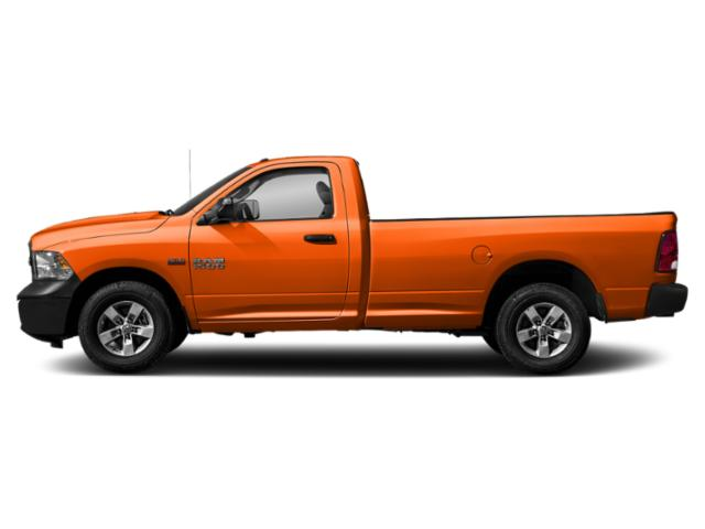 Omaha Orange 2018 Ram Truck 1500 Pictures 1500 Express 4x2 Reg Cab 6'4 Box photos side view