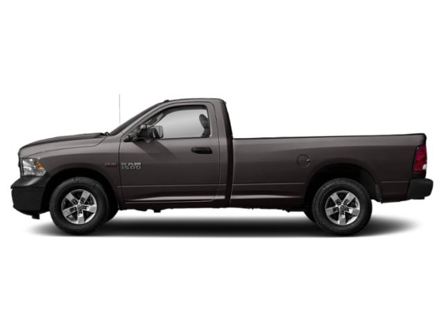 Granite Crystal Metallic Clearcoat 2018 Ram Truck 1500 Pictures 1500 Express 4x2 Reg Cab 6'4 Box photos side view