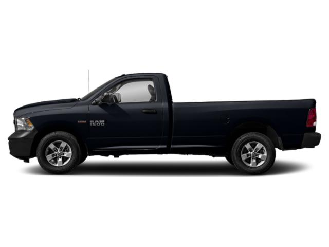 Midnight Blue Pearlcoat 2018 Ram Truck 1500 Pictures 1500 Express 4x2 Reg Cab 6'4 Box photos side view