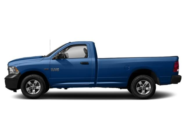 Blue Streak Pearlcoat 2018 Ram Truck 1500 Pictures 1500 Express 4x2 Reg Cab 6'4 Box photos side view