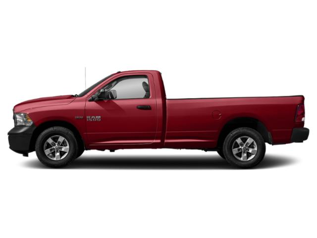 Flame Red Clearcoat 2018 Ram Truck 1500 Pictures 1500 Express 4x2 Reg Cab 6'4 Box photos side view