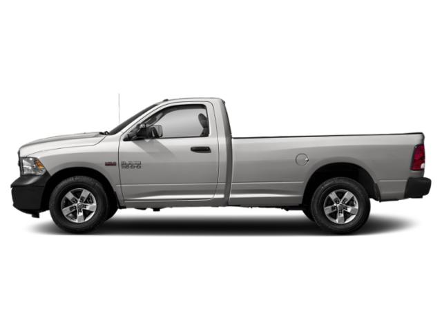 Bright Silver Metallic Clearcoat 2018 Ram Truck 1500 Pictures 1500 Express 4x2 Reg Cab 6'4 Box photos side view