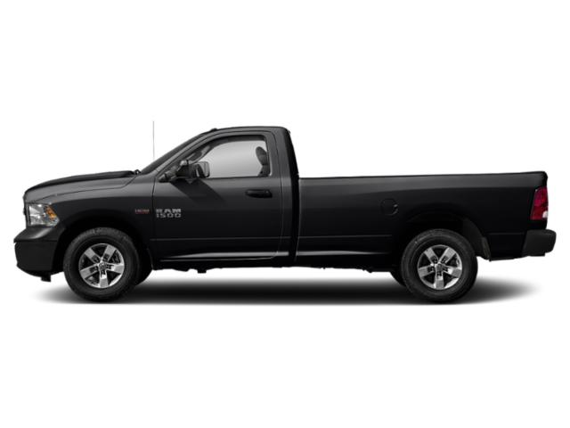 Black Clearcoat 2018 Ram Truck 1500 Pictures 1500 Express 4x2 Reg Cab 6'4 Box photos side view