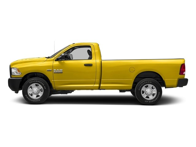 Yellow 2018 Ram Truck 2500 Pictures 2500 SLT 4x4 Reg Cab 8' Box photos side view