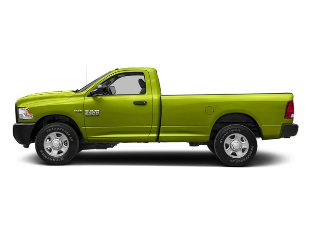 National Safety Yellow 2018 Ram Truck 2500 Pictures 2500 SLT 4x4 Reg Cab 8' Box photos side view