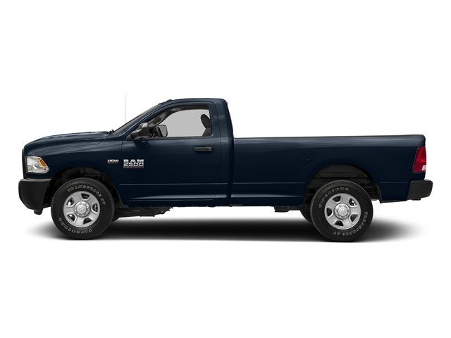 True Blue Pearlcoat 2018 Ram Truck 2500 Pictures 2500 SLT 4x4 Reg Cab 8' Box photos side view