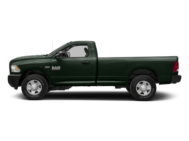 Black Forest Green Pearlcoat 2018 Ram Truck 2500 Pictures 2500 SLT 4x4 Reg Cab 8' Box photos side view