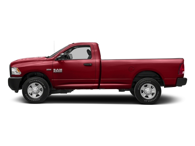 Flame Red Clearcoat 2018 Ram Truck 2500 Pictures 2500 SLT 4x4 Reg Cab 8' Box photos side view