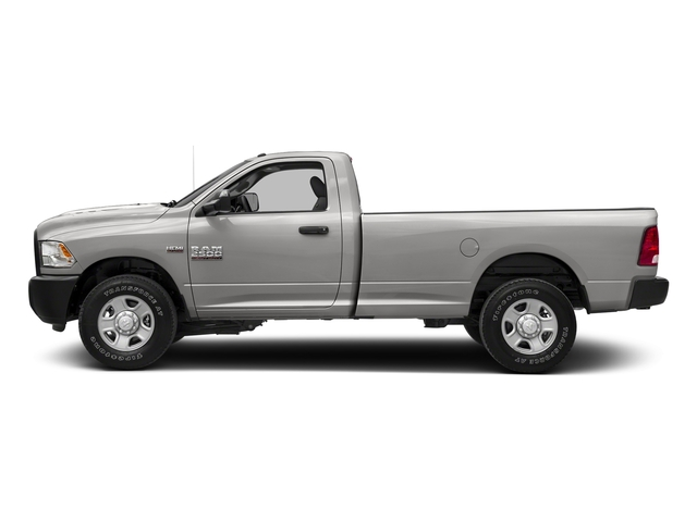 Bright Silver Metallic Clearcoat 2018 Ram Truck 2500 Pictures 2500 SLT 4x4 Reg Cab 8' Box photos side view