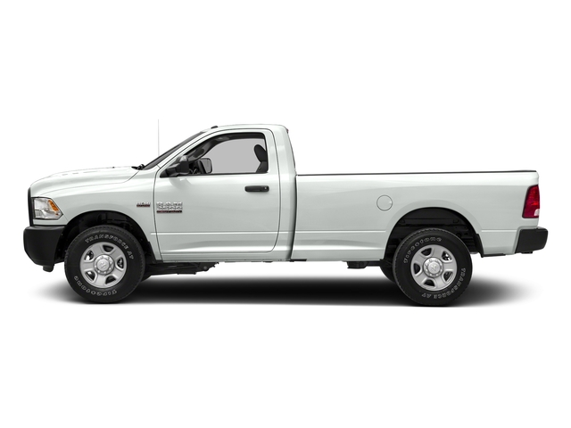 Bright White Clearcoat 2018 Ram Truck 2500 Pictures 2500 SLT 4x4 Reg Cab 8' Box photos side view
