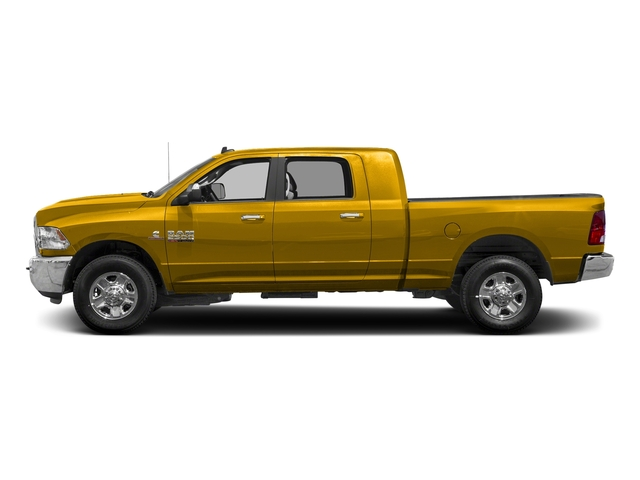 Yellow 2018 Ram Truck 2500 Pictures 2500 SLT 4x4 Mega Cab 6'4 Box photos side view