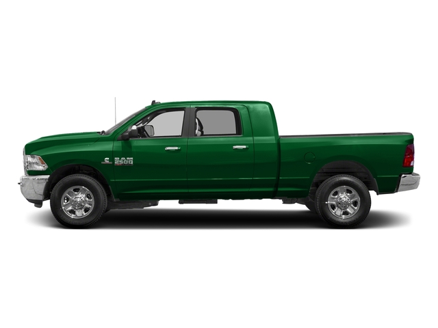 Bright Green 2018 Ram Truck 2500 Pictures 2500 SLT 4x4 Mega Cab 6'4 Box photos side view