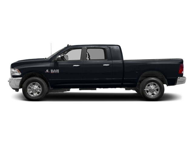 Midnight Blue Pearlcoat 2018 Ram Truck 2500 Pictures 2500 SLT 4x4 Mega Cab 6'4 Box photos side view