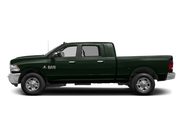 Black Forest Green Pearlcoat 2018 Ram Truck 2500 Pictures 2500 SLT 4x4 Mega Cab 6'4 Box photos side view