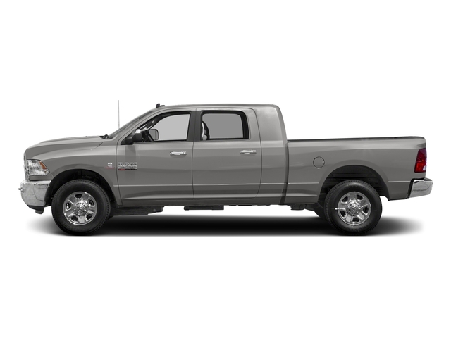 Bright Silver Metallic Clearcoat 2018 Ram Truck 2500 Pictures 2500 SLT 4x4 Mega Cab 6'4 Box photos side view
