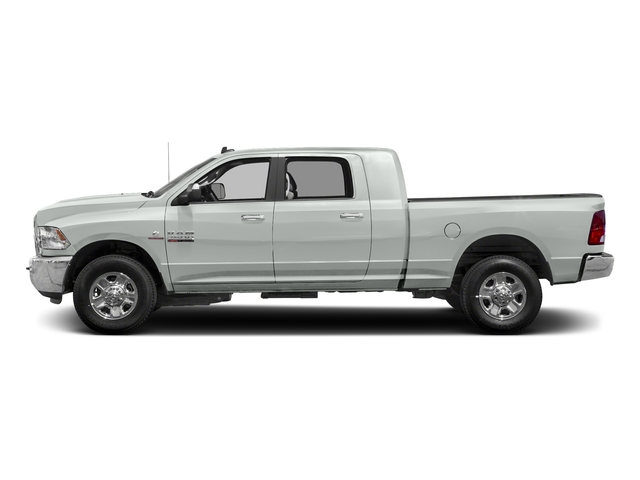 Bright White Clearcoat 2018 Ram Truck 2500 Pictures 2500 SLT 4x4 Mega Cab 6'4 Box photos side view