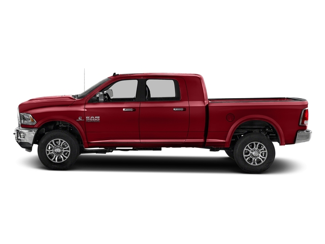 Flame Red Clearcoat 2018 Ram Truck 2500 Pictures 2500 Laramie 4x4 Mega Cab 6'4 Box photos side view