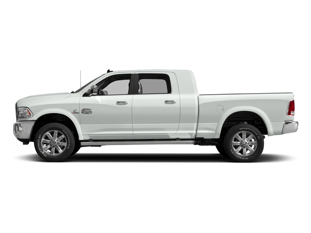 Bright White Clearcoat 2018 Ram Truck 2500 Pictures 2500 Limited 4x2 Mega Cab 6'4 Box photos side view