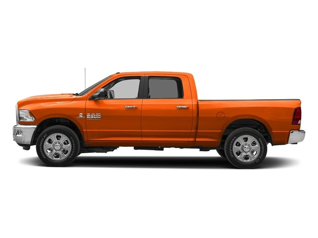 Omaha Orange 2018 Ram Truck 2500 Pictures 2500 SLT 4x2 Crew Cab 6'4 Box photos side view