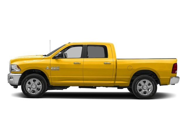 Yellow 2018 Ram Truck 2500 Pictures 2500 SLT 4x2 Crew Cab 6'4 Box photos side view