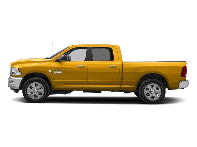Construction Yellow 2018 Ram Truck 2500 Pictures 2500 SLT 4x2 Crew Cab 6'4 Box photos side view