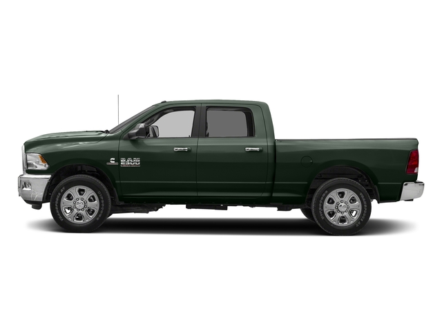 Black Forest Green Pearlcoat 2018 Ram Truck 2500 Pictures 2500 SLT 4x2 Crew Cab 6'4 Box photos side view