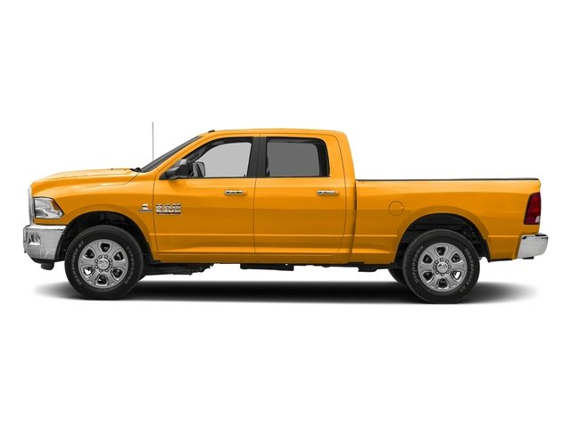 School Bus Yellow 2018 Ram Truck 2500 Pictures 2500 SLT 4x2 Crew Cab 6'4 Box photos side view