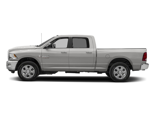 Bright Silver Metallic Clearcoat 2018 Ram Truck 2500 Pictures 2500 SLT 4x2 Crew Cab 6'4 Box photos side view