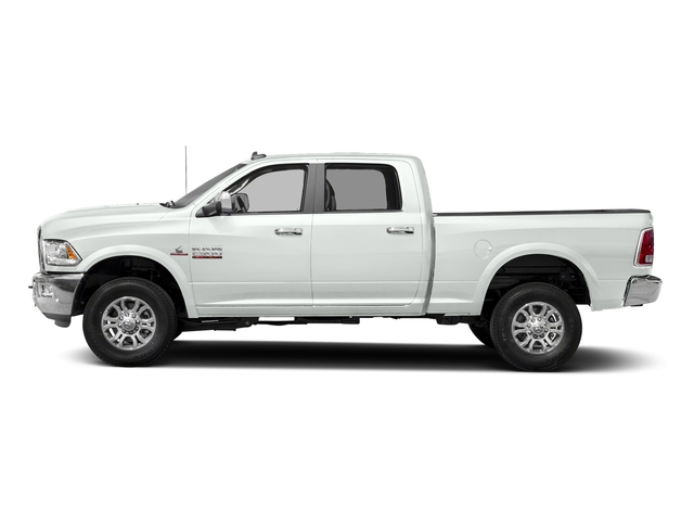Bright White Clearcoat 2018 Ram Truck 2500 Pictures 2500 Laramie 4x2 Crew Cab 6'4 Box photos side view