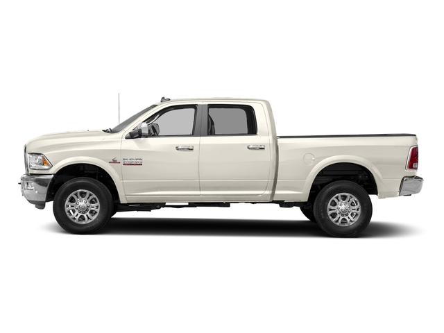 Pearl White 2018 Ram Truck 2500 Pictures 2500 Laramie 4x2 Crew Cab 6'4 Box photos side view