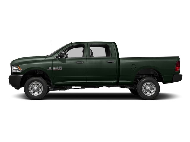 Black Forest Green Pearlcoat 2018 Ram Truck 2500 Pictures 2500 Tradesman 4x4 Crew Cab 8' Box photos side view