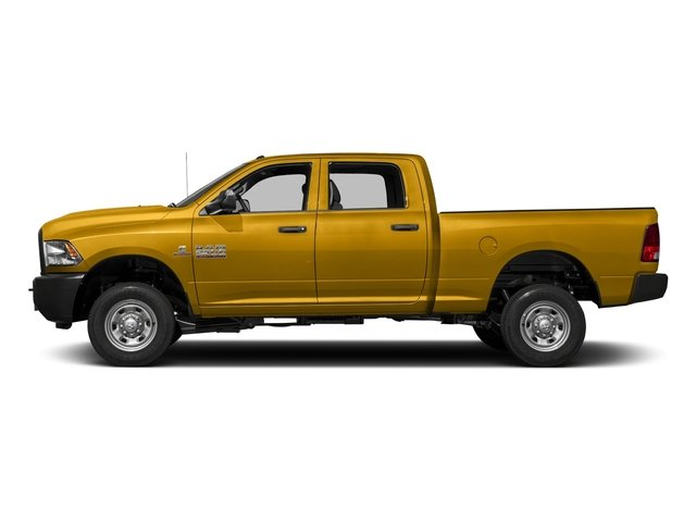 School Bus Yellow 2018 Ram Truck 2500 Pictures 2500 Tradesman 4x4 Crew Cab 8' Box photos side view