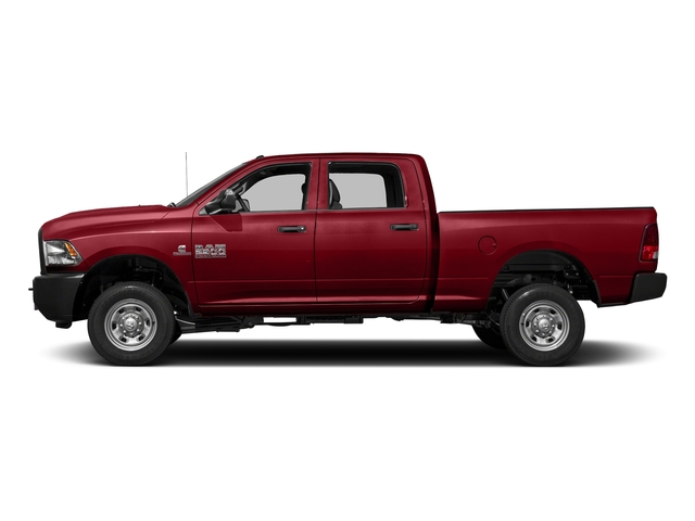 Flame Red Clearcoat 2018 Ram Truck 2500 Pictures 2500 Tradesman 4x4 Crew Cab 8' Box photos side view