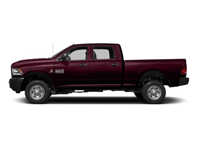 Delmonico Red Pearlcoat 2018 Ram Truck 2500 Pictures 2500 Tradesman 4x4 Crew Cab 8' Box photos side view