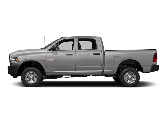 Bright Silver Metallic Clearcoat 2018 Ram Truck 2500 Pictures 2500 Tradesman 4x4 Crew Cab 8' Box photos side view