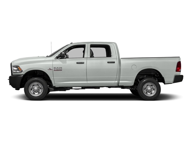 Bright White Clearcoat 2018 Ram Truck 2500 Pictures 2500 Tradesman 4x4 Crew Cab 8' Box photos side view
