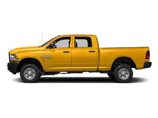 Detonator Yellow Clearcoat 2018 Ram Truck 2500 Pictures 2500 Tradesman 4x4 Crew Cab 8' Box photos side view