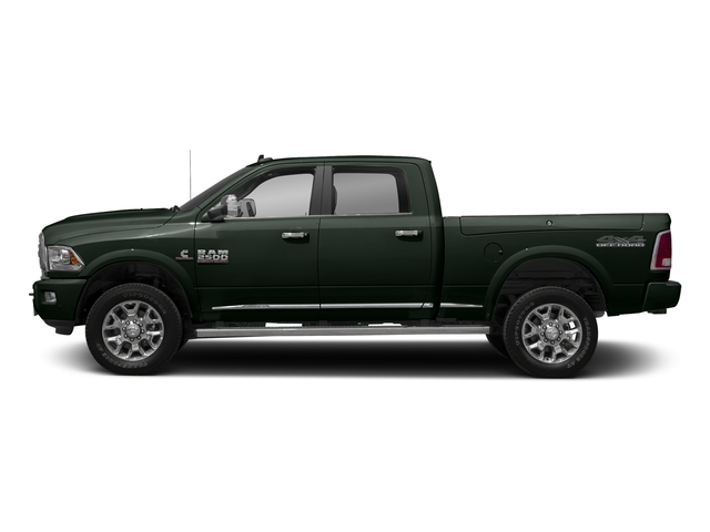Black Forest Green Pearlcoat 2018 Ram Truck 2500 Pictures 2500 Laramie Longhorn 4x2 Crew Cab 8' Box photos side view