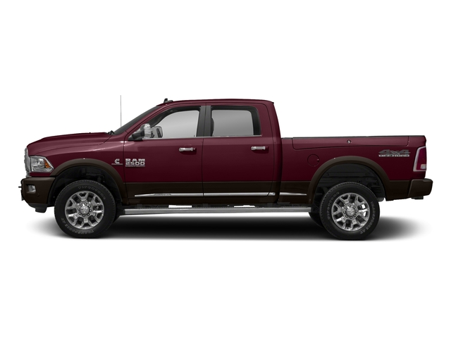 Delmonico Red Pearlcoat 2018 Ram Truck 2500 Pictures 2500 Laramie Longhorn 4x2 Crew Cab 8' Box photos side view