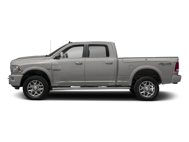 Bright Silver Metallic Clearcoat 2018 Ram Truck 2500 Pictures 2500 Laramie Longhorn 4x2 Crew Cab 8' Box photos side view