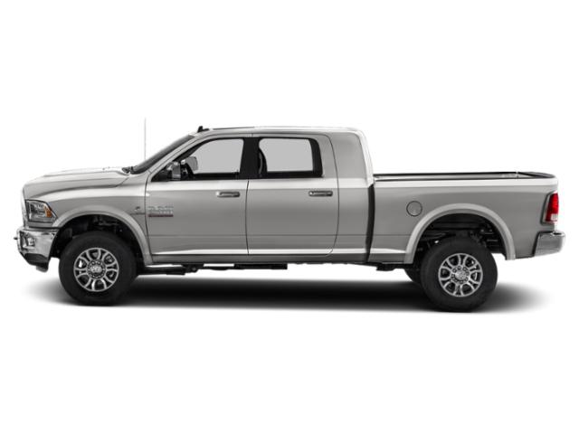 Bright Silver Metallic Clearcoat 2018 Ram Truck 2500 Pictures 2500 Laramie 4x4 Mega Cab 6'4 Box photos side view