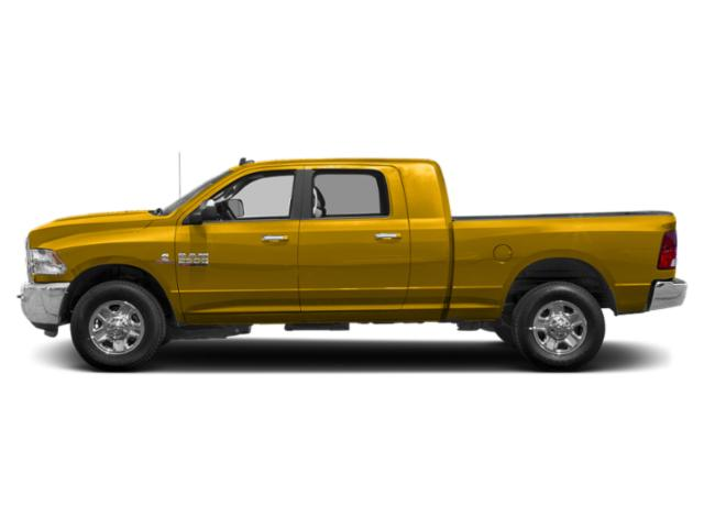 Yellow 2018 Ram Truck 2500 Pictures 2500 Mega Cab Bighorn/Lone Star 2WD photos side view