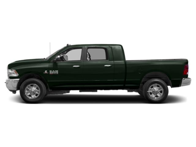 Black Forest Green Pearlcoat 2018 Ram Truck 2500 Pictures 2500 Mega Cab Bighorn/Lone Star 4WD photos side view